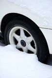 Winter wheel Royalty Free Stock Photo