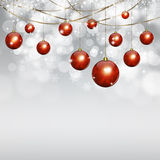 Winter White Holiday Background Royalty Free Stock Images