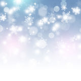 Winter White Snow Background Royalty Free Stock Photos