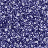 Winter white snowy seamless pattern  or  backgroun Royalty Free Stock Images