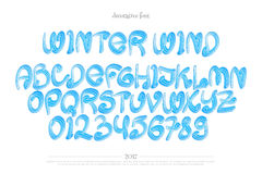 Winter wind Royalty Free Stock Photography