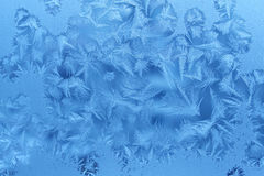 Winter window Stock Photos
