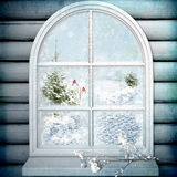 Winter Window Royalty Free Stock Image
