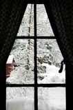 Winter Window royalty free stock photography