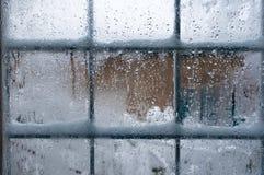 Winter window Stock Photo