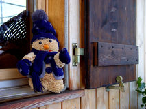 Winter window. Winterfeelings in switzerland Royalty Free Stock Photography