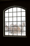 Winter in the window Stock Image
