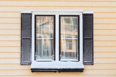 Winter Windows Royalty Free Stock Photography