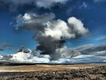 Winter-Wolken Lizenzfreies Stockbild