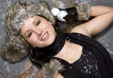 Free Winter Woman Stock Image - 7350751