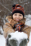 Winter Woman Royalty Free Stock Photography