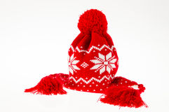 Winter woman cap Stock Photo