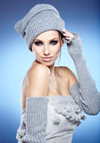 Winter Woman Portrait Royalty Free Stock Image