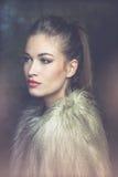 Winter woman portrait Royalty Free Stock Image