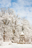 Winter wonder land - roman monument Stock Images