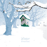 Winter Wonderland - Background Stock Photography