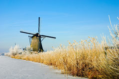 Winter wonderland in Holland Royalty Free Stock Photography