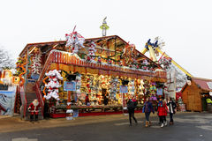Winter Wonderland in Hyde Park, London Royalty Free Stock Photo