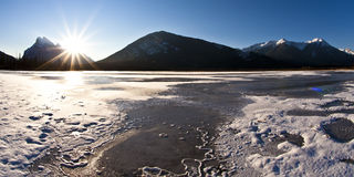 Winter Wonderland in the Rockies Stock Images
