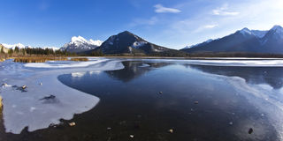 Winter Wonderland in the Rockies Stock Photos