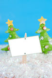 Winter wonderland sign Royalty Free Stock Images