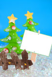Winter wonderland sign Stock Photos