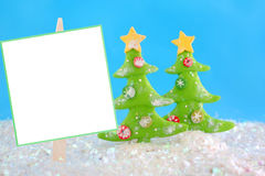 Winter wonderland sign Stock Photography