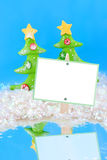 Winter wonderland sign Stock Images