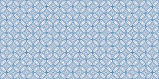 Winter wood Intricate blue  teal abstract. Diamond square geometric carpet design on black background Stock Photo
