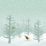 Winter wood2 Royalty Free Stock Photo