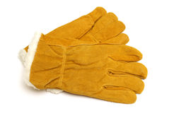 Winter Work Gloves Royalty Free Stock Photography