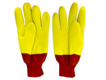 Winter work gloves Royalty Free Stock Images
