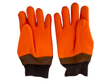 Winter work gloves Stock Image