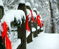 Winter wounderland Stockfoto