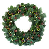 Winter Wreath Stock Photo