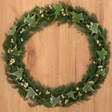 Winter Wreath Royalty Free Stock Photos