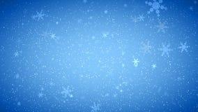 Winter-Wunder-Schneeflocken lizenzfreie abbildung