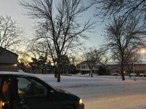 Winter& x27; belleza de s Fotografía de archivo libre de regalías