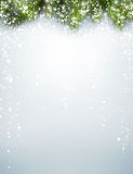 Winter xmas background Stock Photo