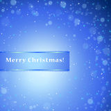 Winter xmas  background with place for text Royalty Free Stock Images