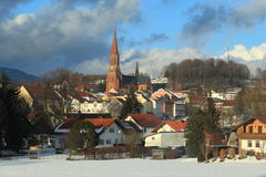 Winter Zwiesel Royalty Free Stock Photo