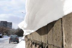 Winterabenteuer Stockbild