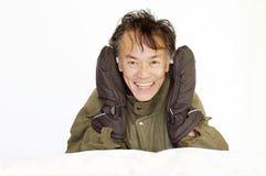 Winteraktivitätskleidung Lizenzfreie Stockfotos
