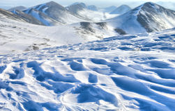 Winteransicht. Stockbild