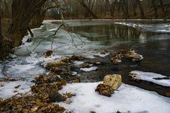Winteransicht Craig Creek lizenzfreie stockfotografie