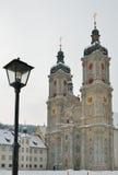 Winteransicht von St Gallen Stockbild