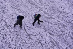 Winteransichten von Kanada Stockfoto