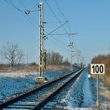 Winterbahn Lizenzfreies Stockbild