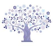 Winterbaum. lizenzfreie abbildung