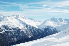 Winterberge lizenzfreies stockbild